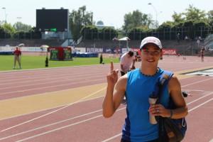 Александр Меньков победил на первом этапе «Бриллиантовой лиги»