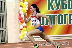 Екатерина Блескина установила национальный рекорд