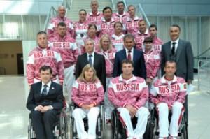В Красноярске состоялись проводы группы поддержки паралимпийцев