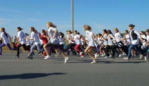 В Красноярске пройдут легкоатлетические забеги «Кросс Нации»