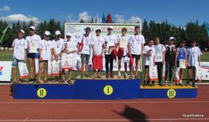 Команда Красноярского края заняла третье место на «Шиповке юных»