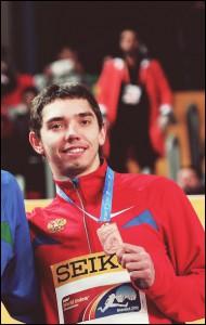 Александр Меньков - претендент на звание лучшего спортсмена сентября