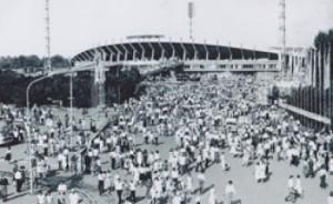 Центральный стадион отметил юбилей