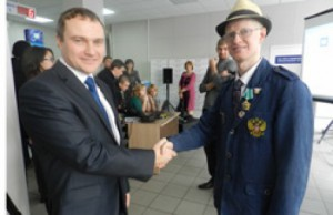 Евгений Кегелев принял участие во всероссийской акции «От сердца к сердцу»