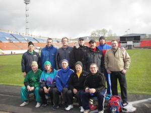 Коллектив краевой федерации поздравляет ветеранов легкой атлетики с международным днем пожилых