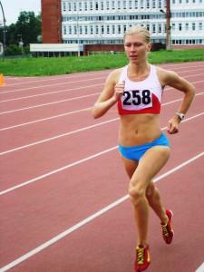 Натлья Аристархова вторая на чемпионате России